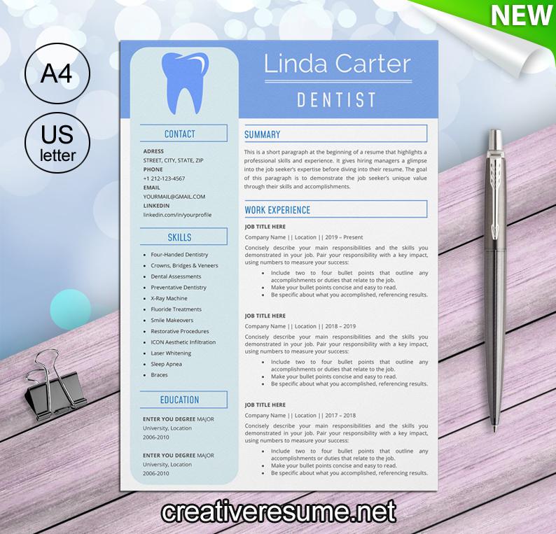 dental assisting resume template