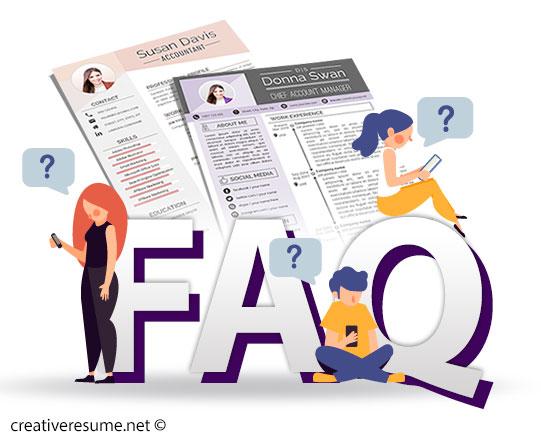 creative resume FAQ