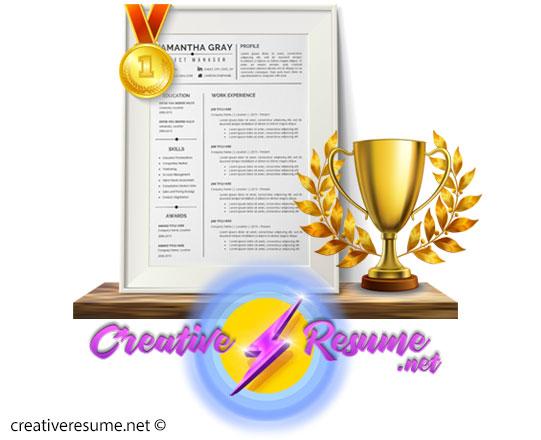 creative resume net