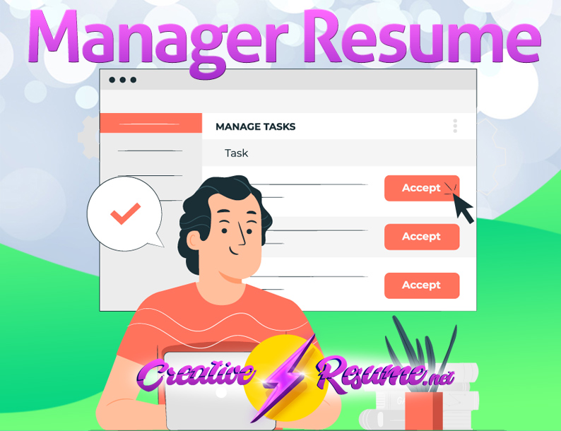 How to write a manager resume