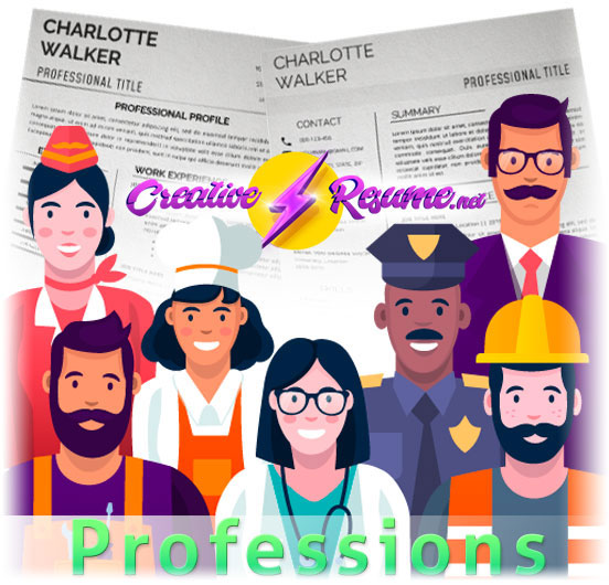 resume template by profession