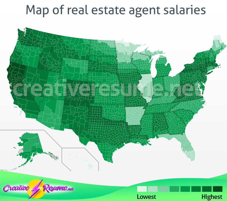 real estate agent salary
