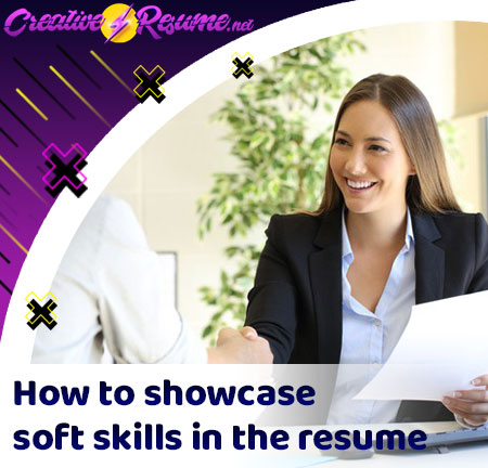 How to showcase soft skills in the resume