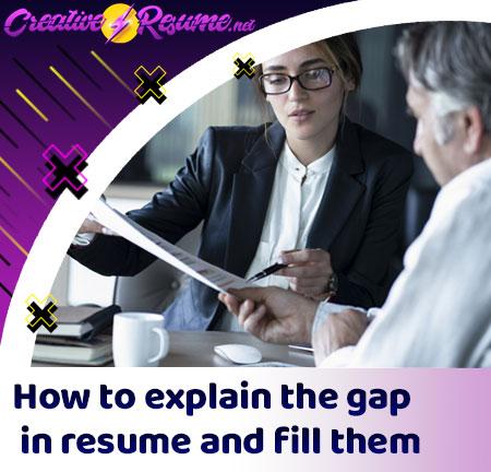 gap in resume