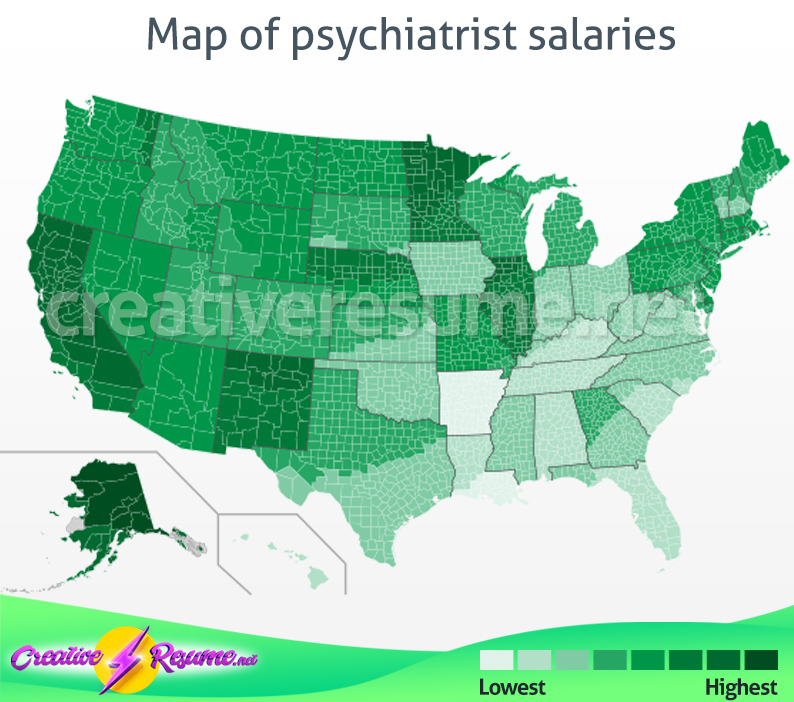 how much does a psychiatrist make